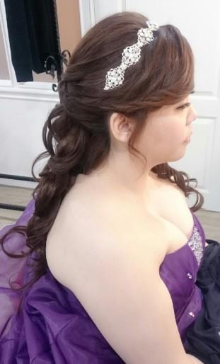 造型妝髮作品-台南新祕Penny
