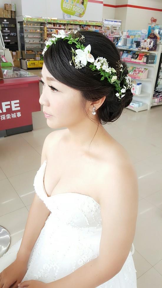 妝髮造型作品-台南新秘Penny