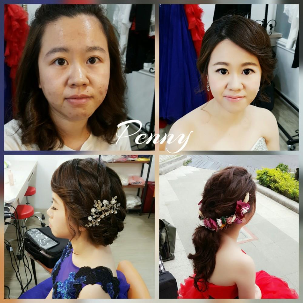 新娘編髮造型-台南新秘Penny