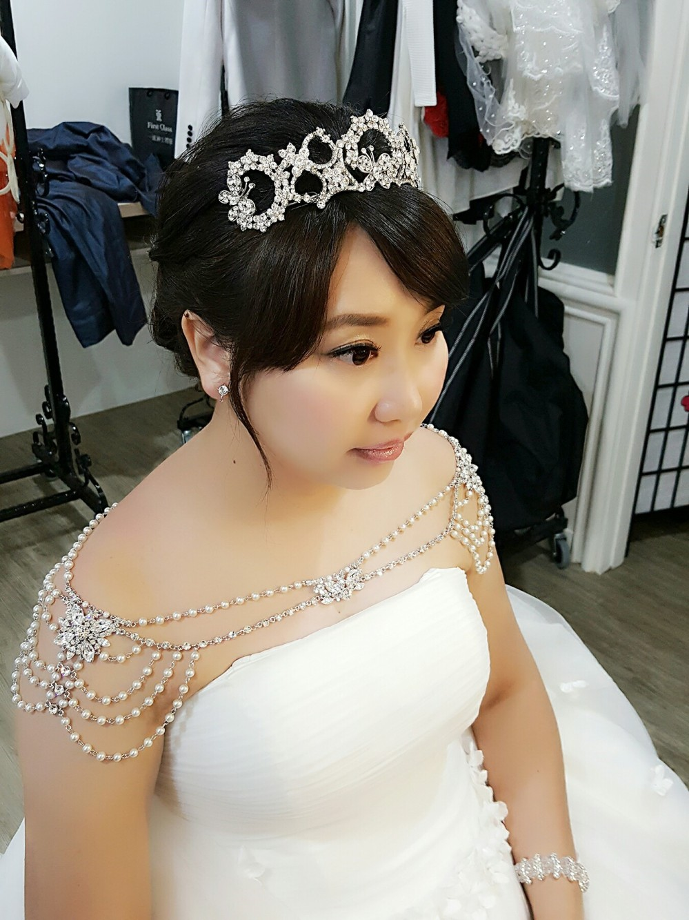 妝髮造型分享-台南新秘Penny