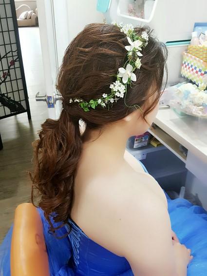新秘造型妝髪作品-