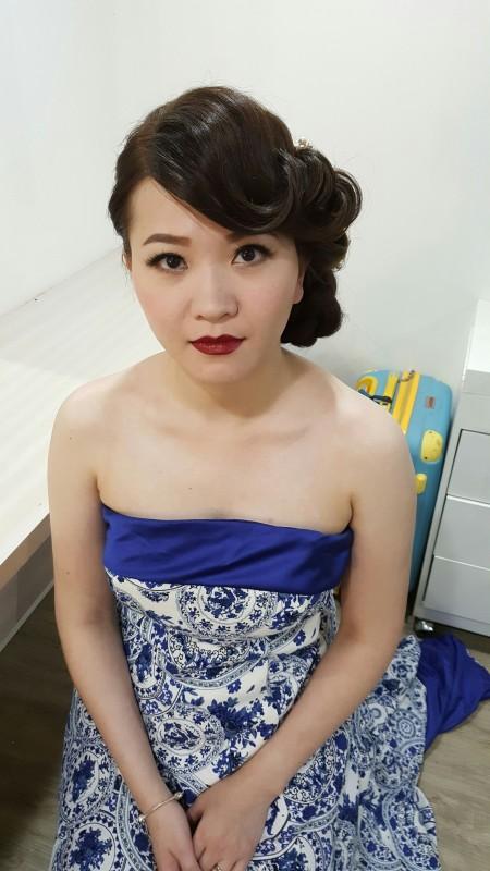 新秘造型妝髮-台南Penny