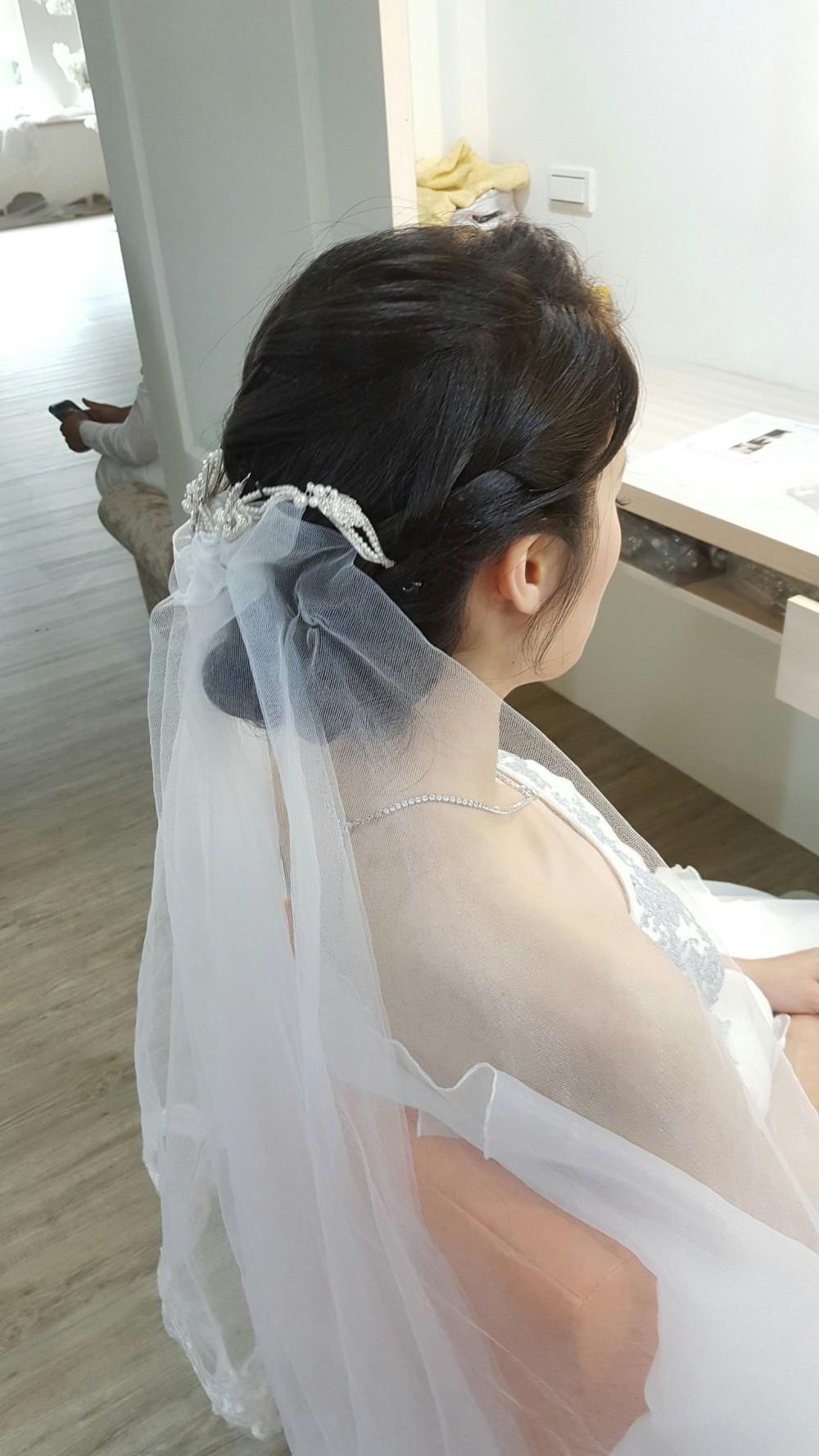新娘頭飾造型變化-台南新秘PENNY