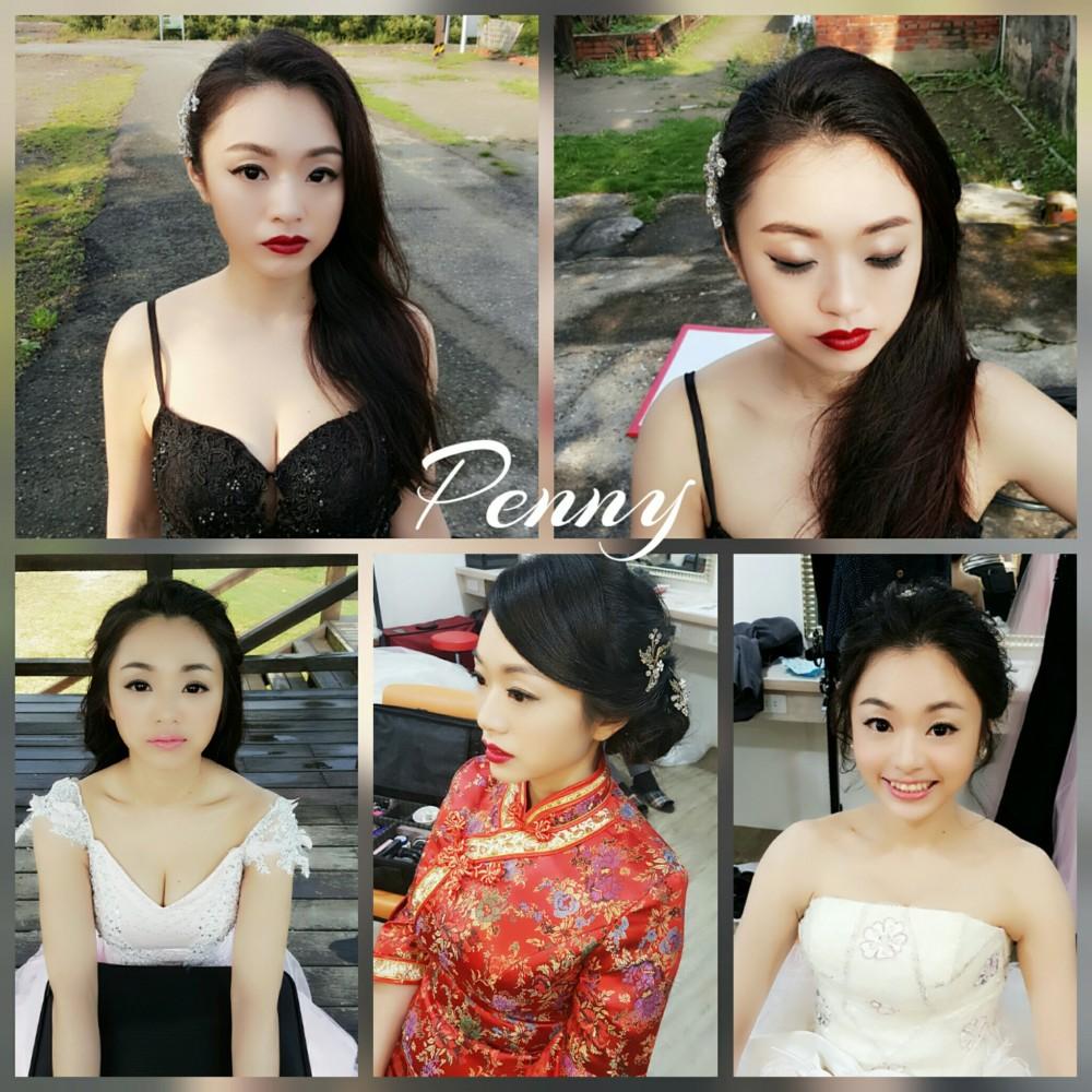 妝髮造型變化特輯-台南新秘Penny