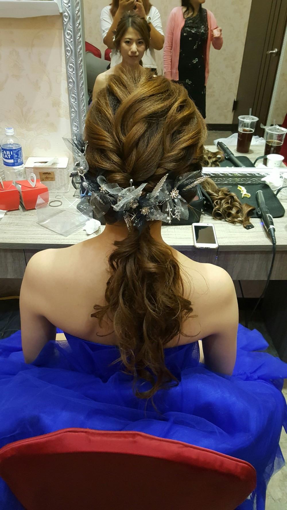 妝髮造型分享-台南新祕Penny