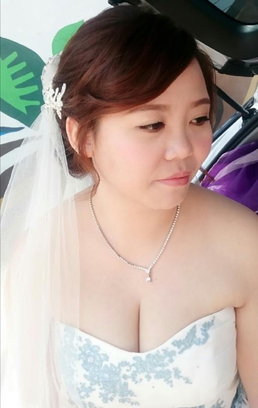 頭紗造型妝髮-台南新祕Penny