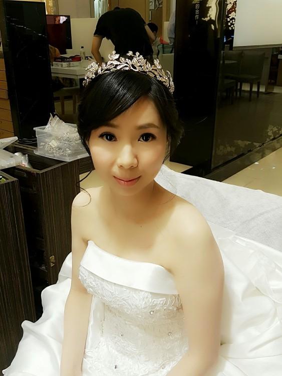 新娘造型妝髮-台南新秘penny