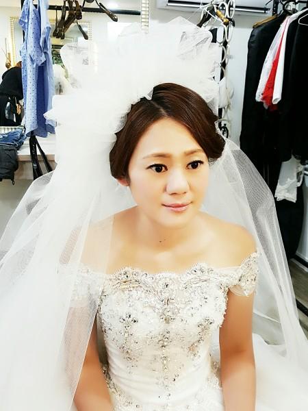 新娘盤髮造型-台南新秘PENNY