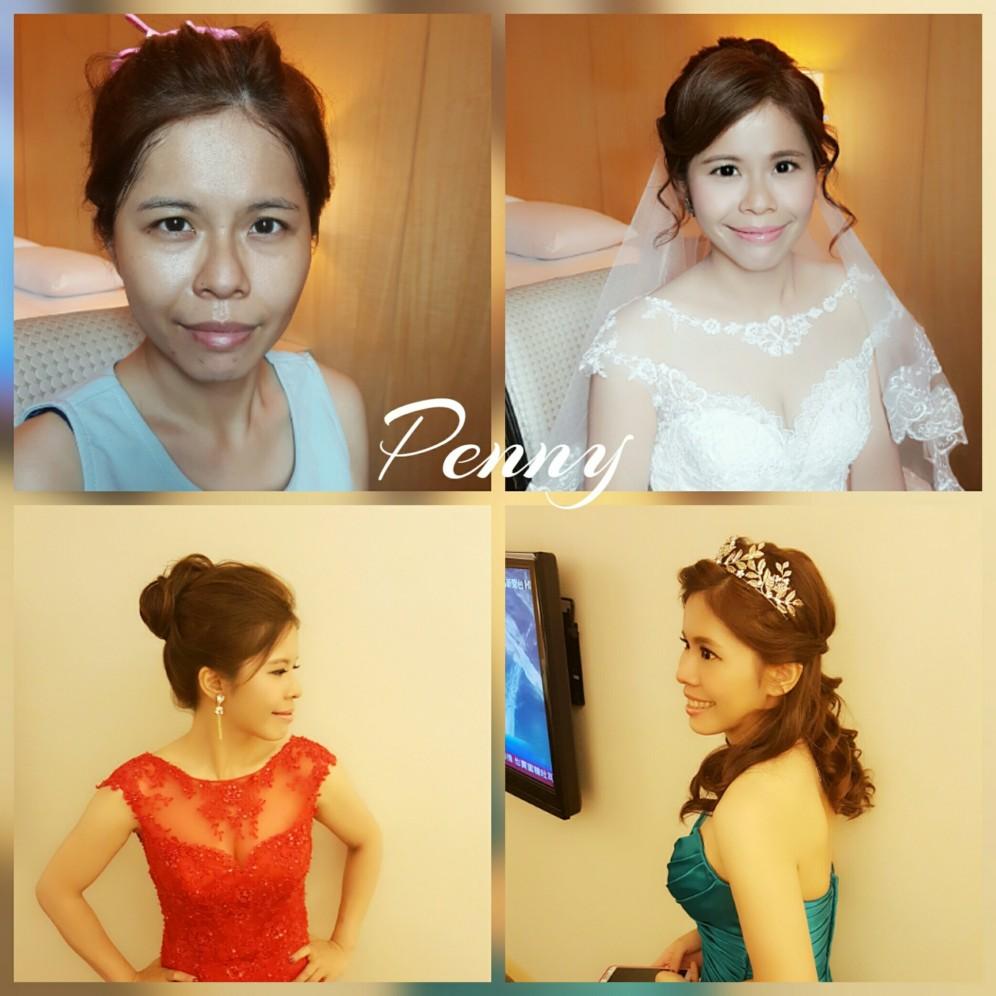 妝髪造型分享-台南新祕Penny