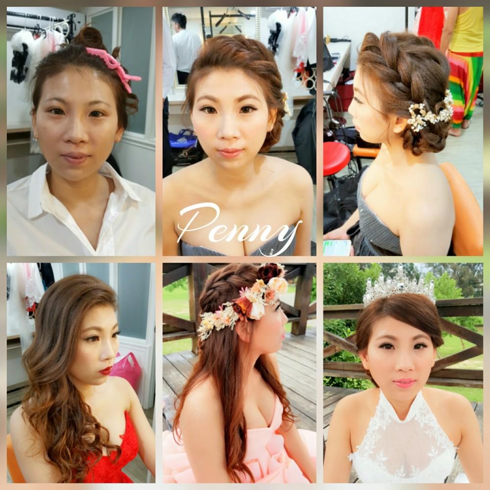 造型妝髪作品-台南新秘Penny