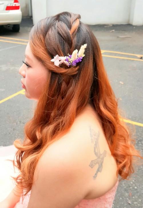 新娘妝髮造型-台南新秘Penny