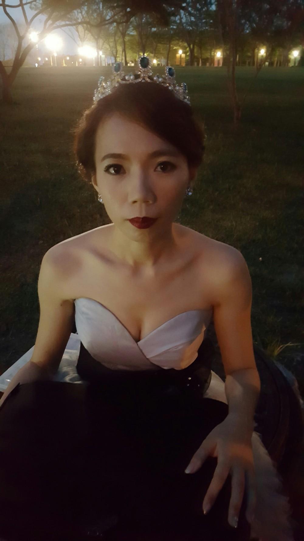 中長髮新娘造型-台南新秘PENNY