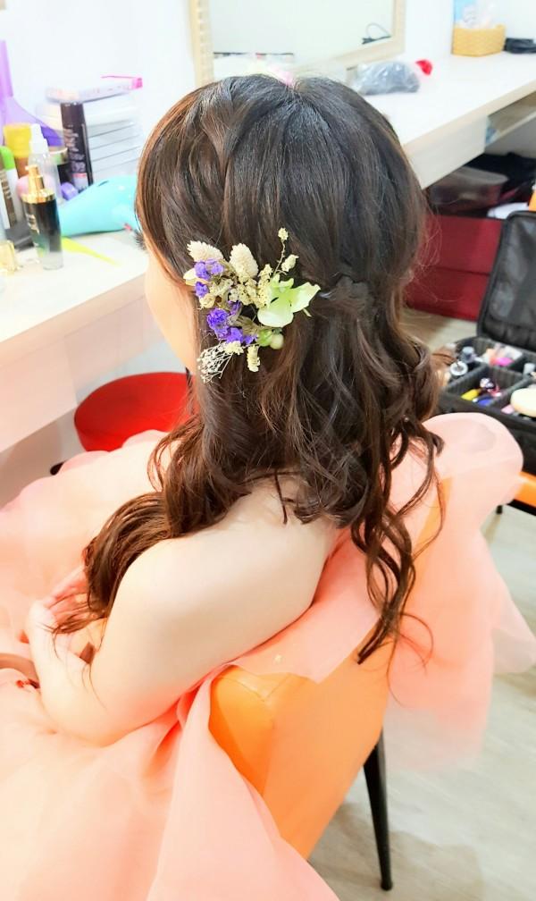 新娘造型妝髪推薦-台南新秘PENNY