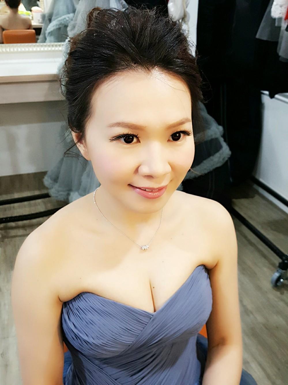 新秘妝髮造型分享-台南penny
